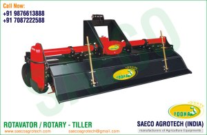 Rotavator manufacturers in India